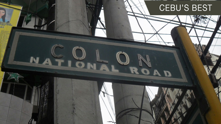 Colon Street named after