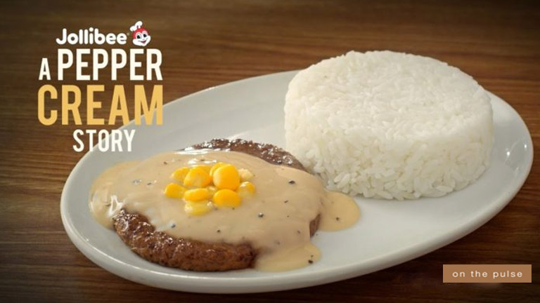 Pepper Cream Burger Steak