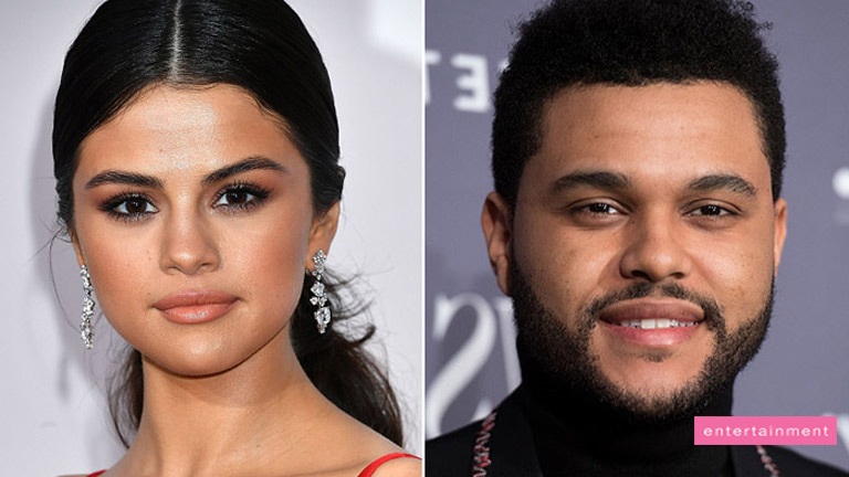 Selena Gomez and The Weeknd are caught getting cozy