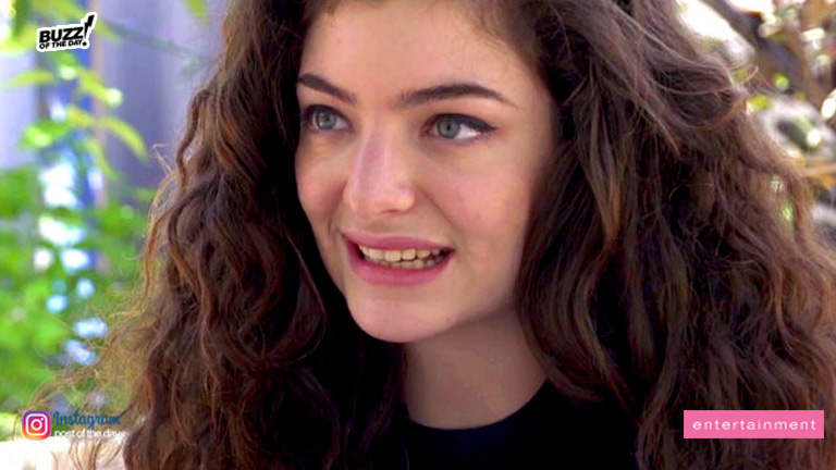 Whose baby is Lorde holding? Singer gives updates to new album
