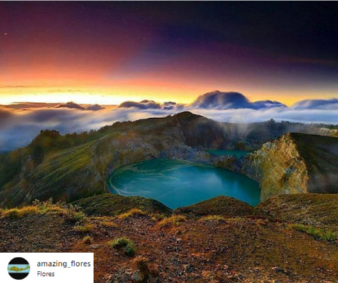 indonesia lake
