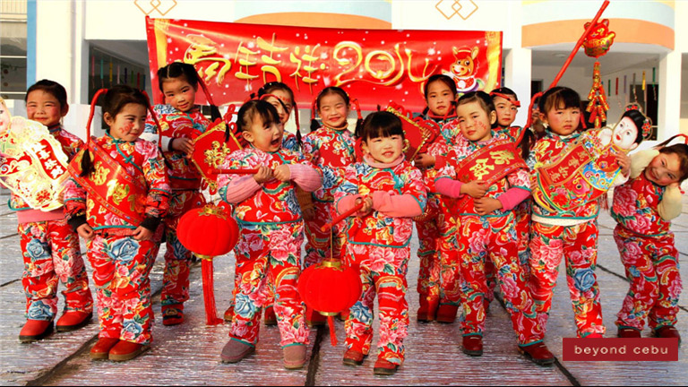 China celebrates the Chinese New Year