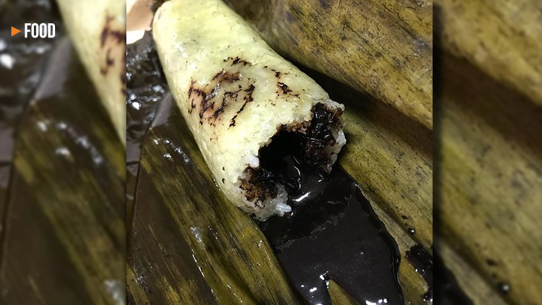 Introducing the budbud with chocolate that oozes out from inside