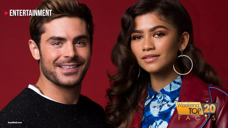 Zac Efron & Zendaya fly in the air in this week's WT20FACTS