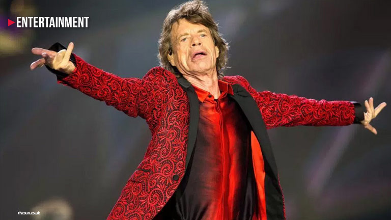 Mick Jagger of The Rolling Stones enter gay bar