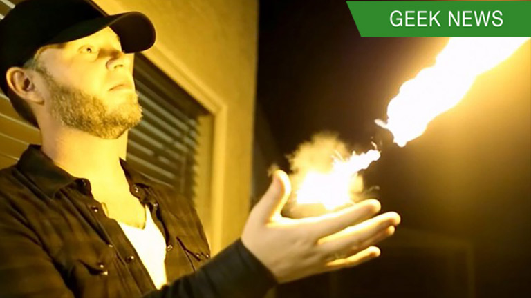 Pyro Mini Fireshooter - Shoot Fireballs from Your Wrist!