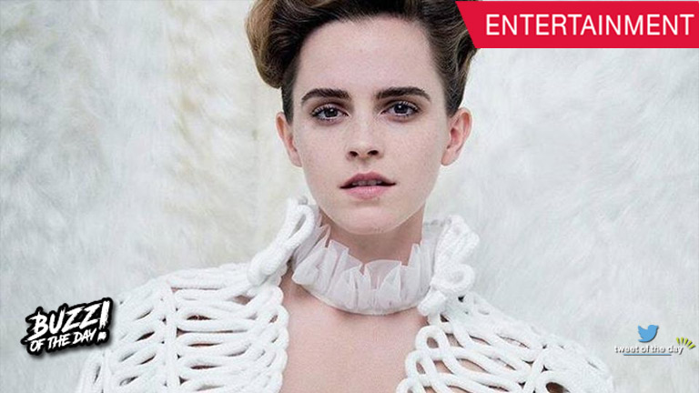 Emma Watson does a topless photo