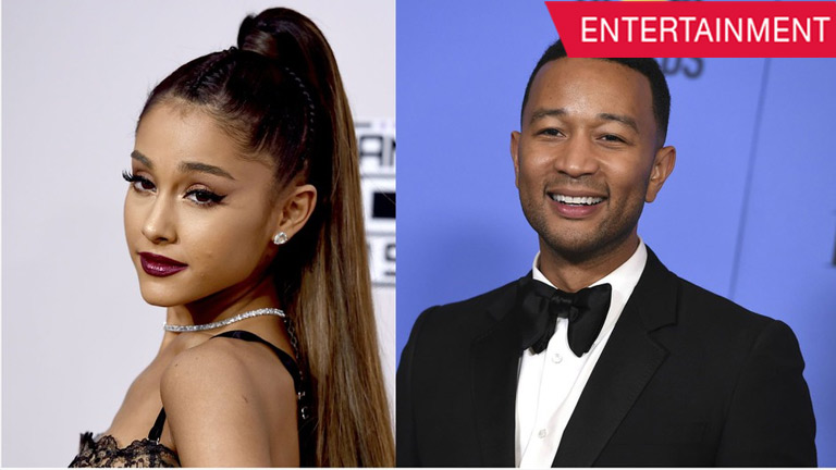 Ariana Grande and John Legend Beauty and the Beast