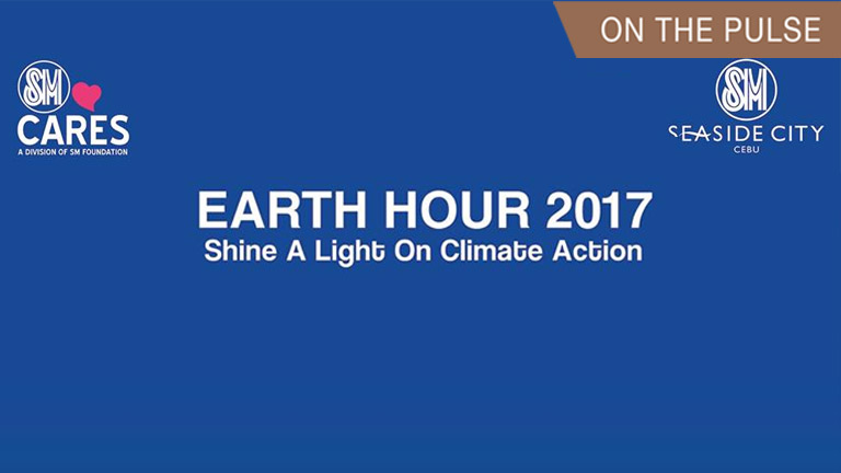 Earth Hour activities at SM Seaside