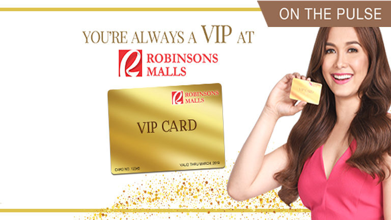 Robinsons Mall VIP Card