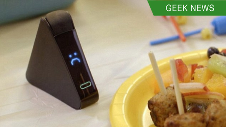 There's a gadget that tests food for allergies and gluten