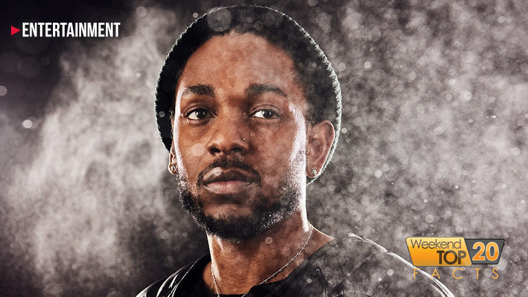 Kendrick Lamar WT20FACTS