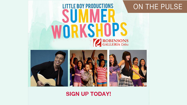 Summer Workshop at Robinsons Galleria
