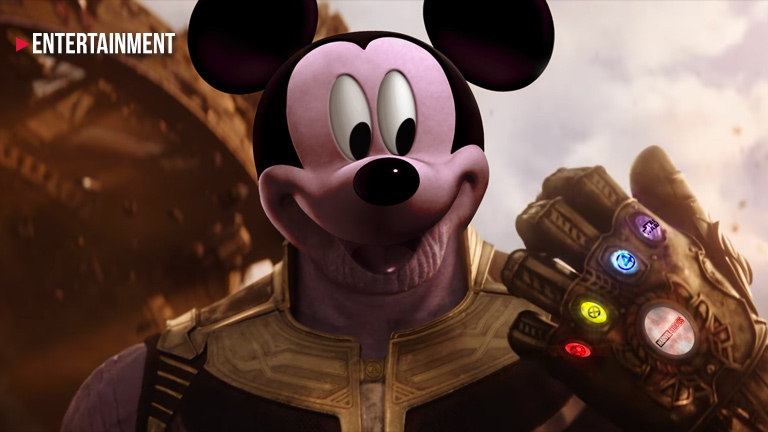 "Is ""Avengers: Infinity War"" an allegory about Disney taking over the world?"