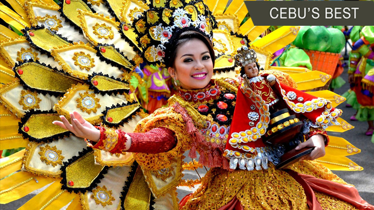 The image of Sto. Niño is also a symbol of Catholicism in the country.