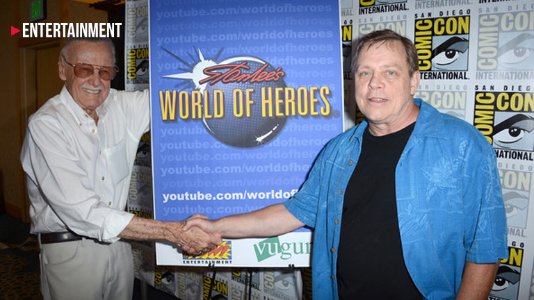 Stan Lee and Mark Hamill team up for some exciting Marvel news