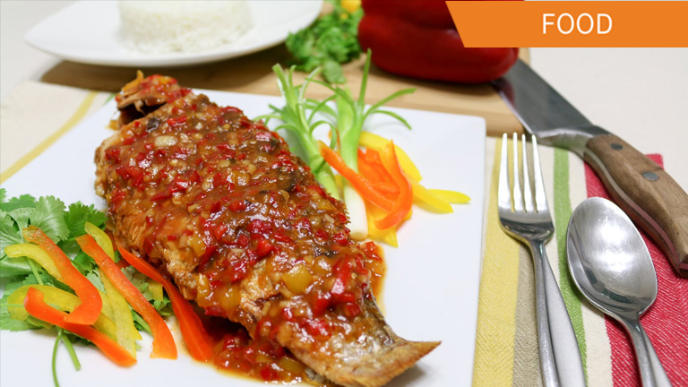 Thai-style Deep Fried Fish