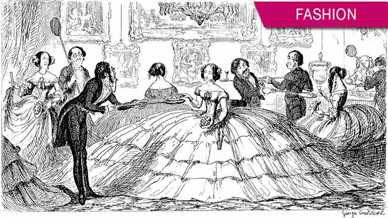 Why women stopped wearing the Crinoline