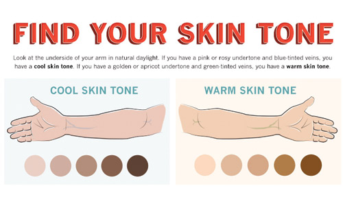 know your skin tone