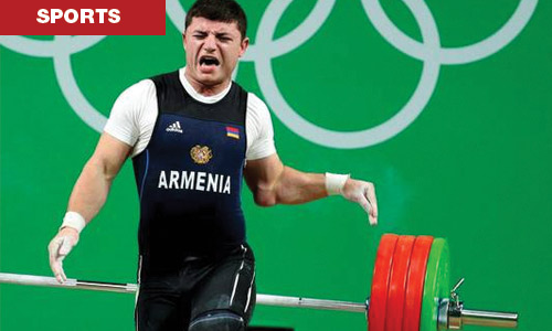 Horrific Weightlifting Injury in rio