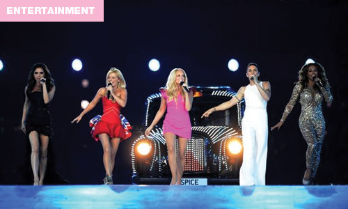 Spice Girls Reunite for the 2012 London Olympics
