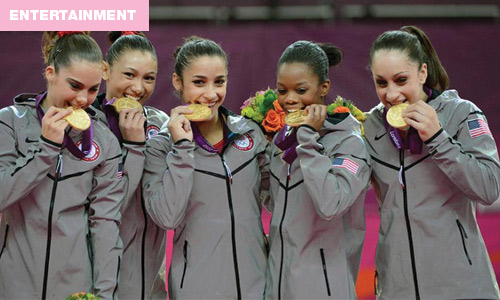biting olympic medals tradition