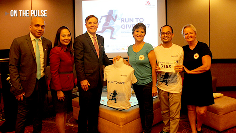 'Run to Give' – Cebu City Marriott Hotel
