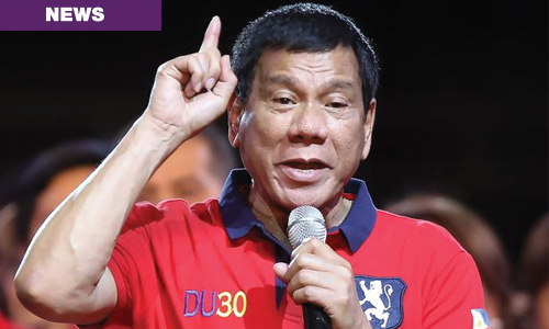 Rody wants US troops out of Mindanao