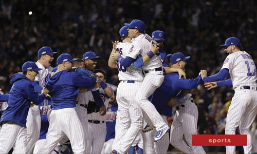 Chicago Cubs Lift 108-Year Old Curse