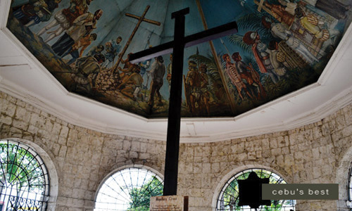 Magellan's Cross is a cultural symbol of Christianity in Cebu. It was planted by Portuguese and Spanish explorers as ordered by Ferdinand Magellan during their arrival in the Cebu Island in 1521.
