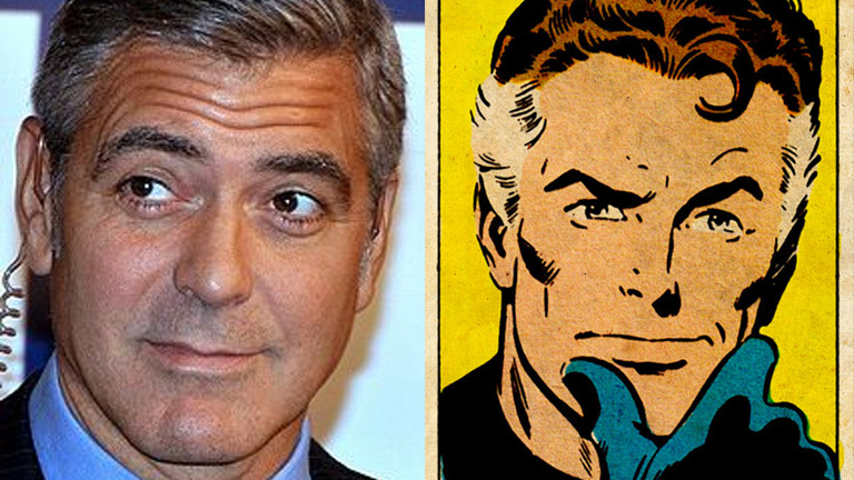 George Clooney as Mr. Fantastic