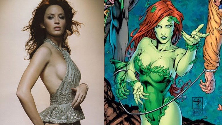 Emily Blunt as Poison Ivy
