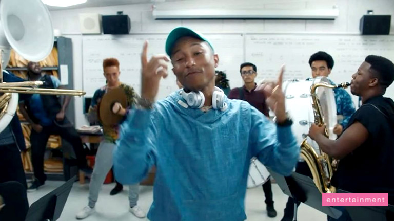 Pharrell Williams' funky new song 'Crave'