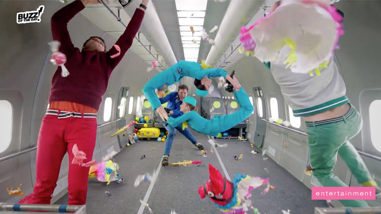 OK Go's New Slow-Mo Music Video