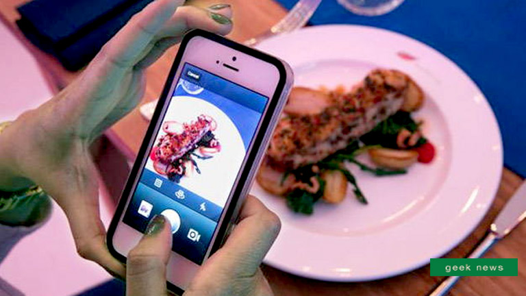 instagramming food trend