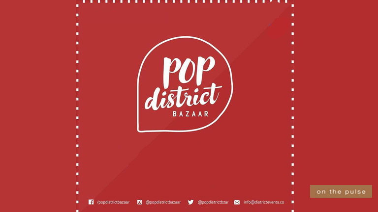 Pop District Bazaar is Back with Shops Open until Midnight!