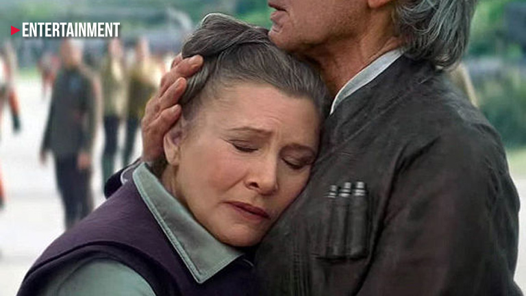 How will Princess Leia die in the next 'Star Wars'