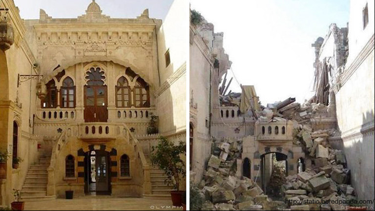 Before and After Pics of Aleppo 3
