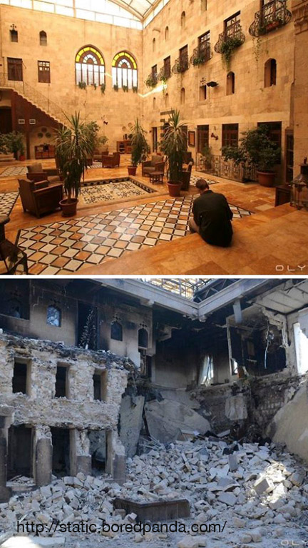 Before and After Pics of Aleppo 5