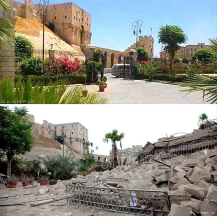 Before and After Pics of Aleppo 6
