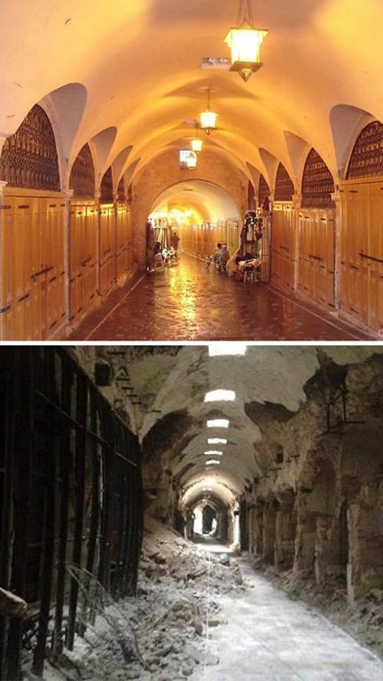 Before and After Pics of Aleppo