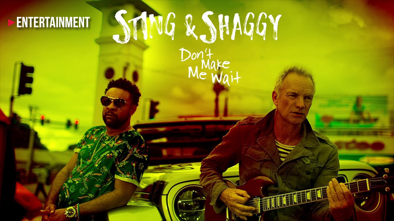 Sting and Shaggy on Lorde at the Grammy Awards
