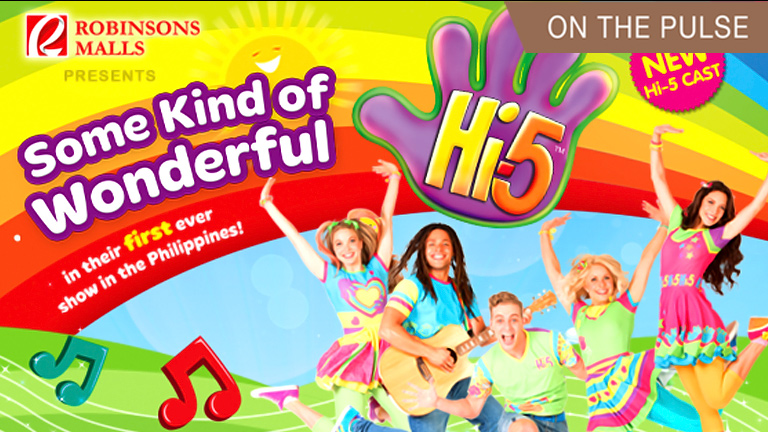 Hi-5 will be coming to Robinsons Galleria Cebu