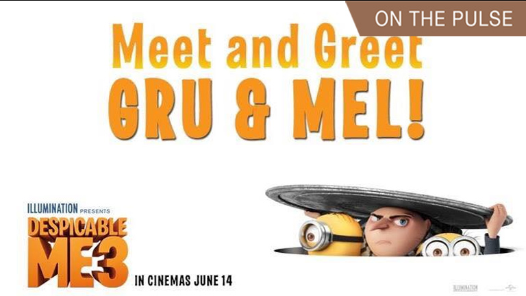 Meet and Greet Despicable Me