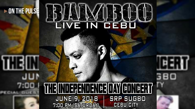 Bamboo Live in Cebu june 9