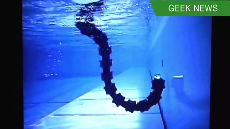 Norway is developing a swimming robot snake