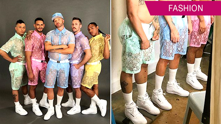 Lace Shorts For Men Are The Latest Fashion Trend