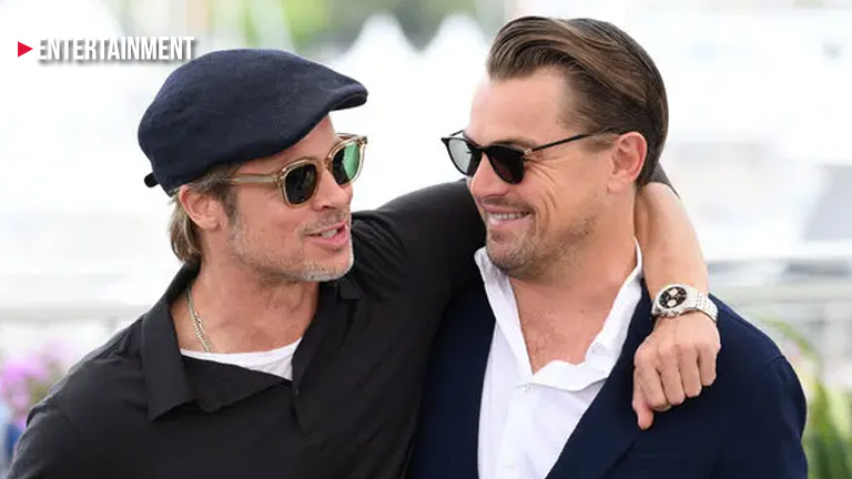 Brad Pitt and Leonardo DiCaprio reminisce about their 'Growing Pains' days