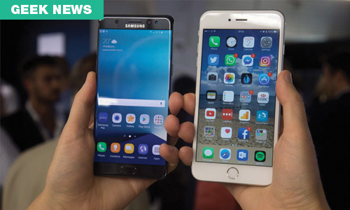 iPhone 7 vs Samsung Galaxy S7