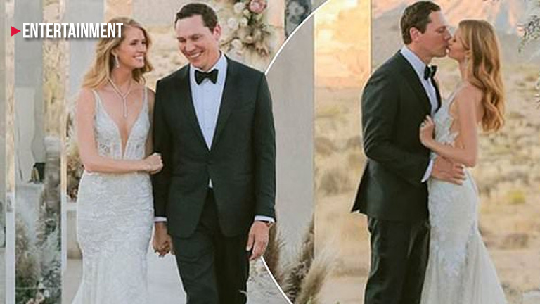 DJ Tiësto marries girlfriend Annika Backes